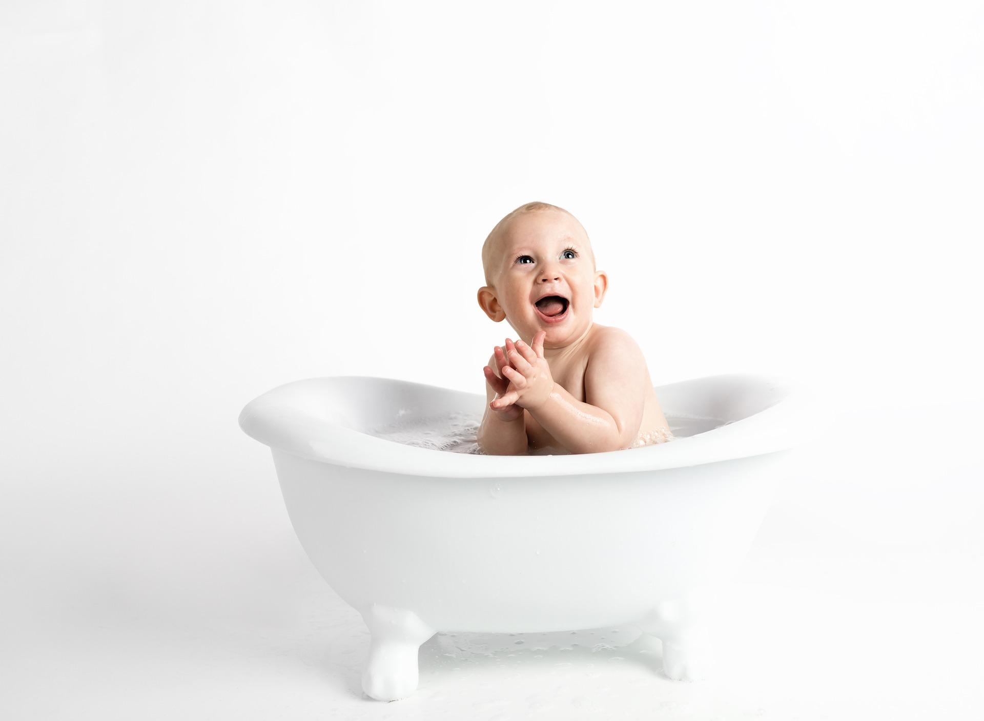 Basisch baden für Babys